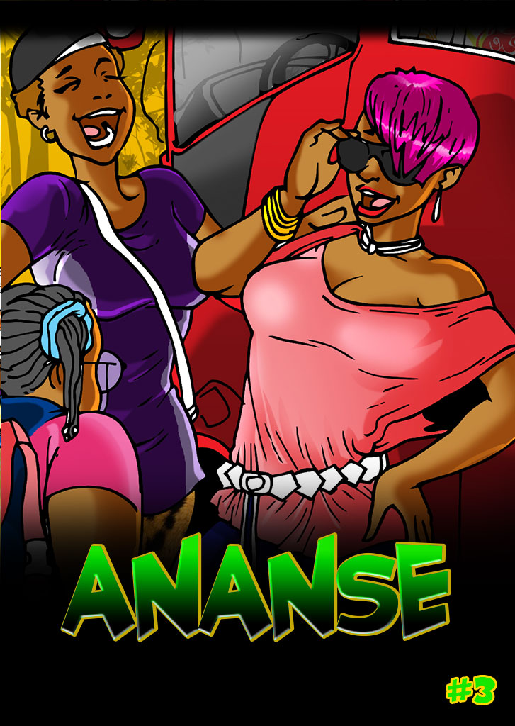 Ananse, The Origin Issue 3